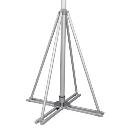 "Cross Base 30""x30""/8lb & Support Bracket"