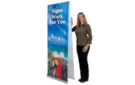 Double Sided Flexi Banner Stand