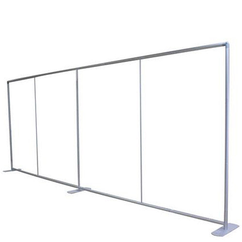 EZ Tube 20 Foot Straight Trade Show Display Frame Hardware Only