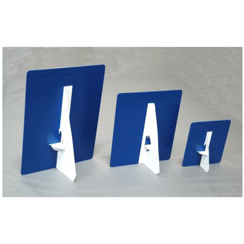 easel backs easel back table top graphic displays lets go banners