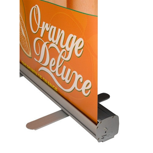 "Econo Roll Retractable Banner Stand 33.5"" W by 80"" Tall"