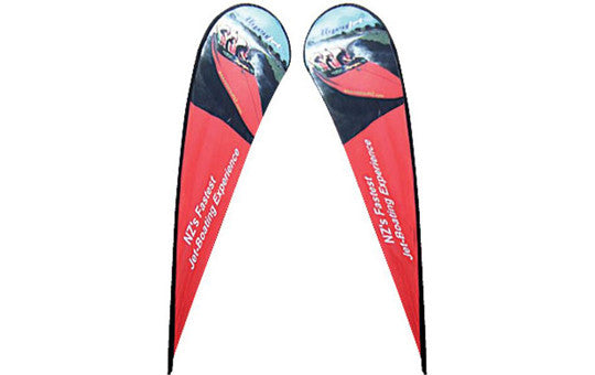 Teardrop Extra Large Outdoor Banner Double Sided (graphic only- no stand)