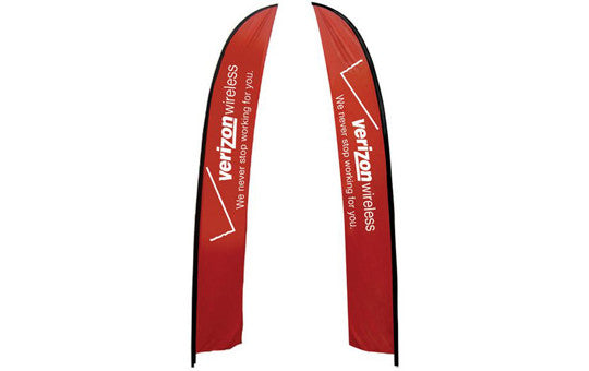 Feather Banner Extra Large Double Sided (no stand or base)