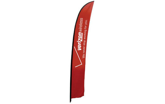 Feather Banner Extra Large Single Sided (no stand or base)