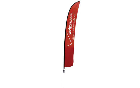 Feather Banner Extra Large Single Sided Graphic Package
