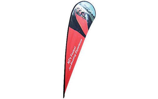 Teardrop Extra Large Outdoor Banner Single Sided (graphic only- no stand)