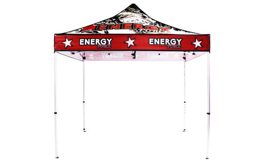 10 Foot Full Color Impression Custom Canopy Tents Aluminum Frame Top and Frame Combo