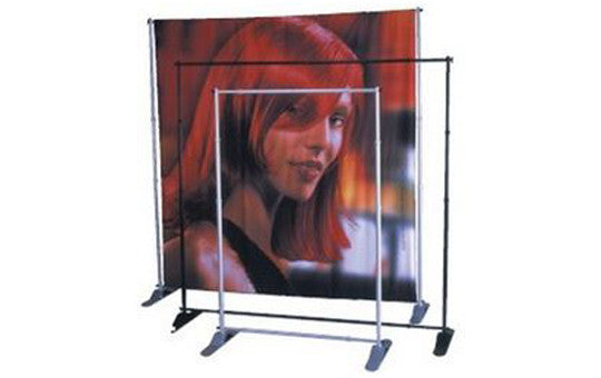 Jumbo XL Banner Stand Small Tube - Large Indoor Banner Display