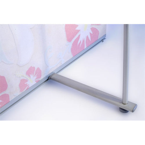 L Banner Stand 36 inch by 83 inch
