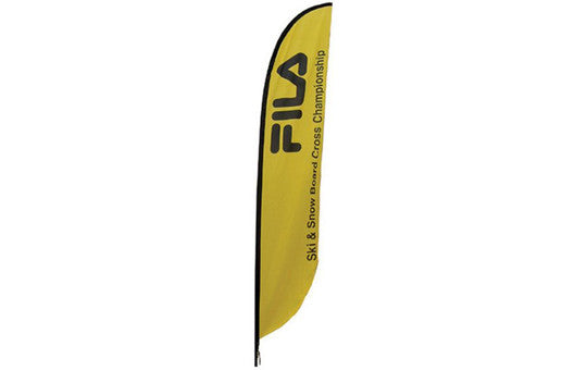 Feather Banner Medium Single Sided (no stand or base)