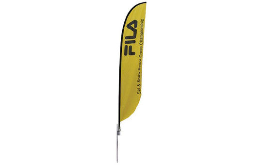 Feather Banner Medium Single Sided Graphic Package