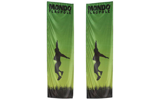 Mondo Flag 17 Foot Display Double Sided Flag Only No Stand