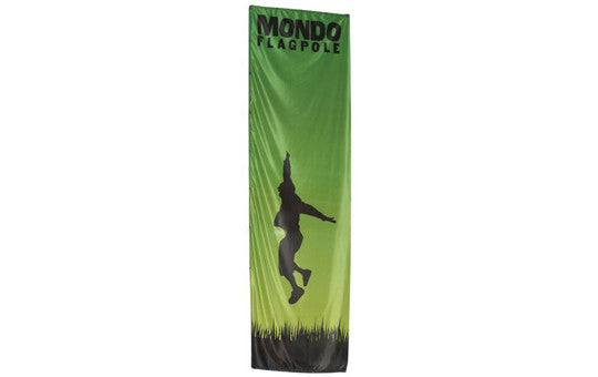 Mondo Flag 17 Foot Display Single Sided Flag Only No Stand