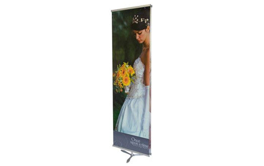 Ninja Star Double Sided Banner Stand Front View