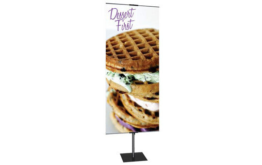 Promo Stand 24 inch by 24 inch to 72 inch tall Double Sided