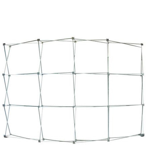Ready Pop Large Curved Single Sided Frame Only (no graphics)