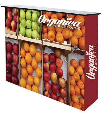 Ready Pop Portable Counter Trade Show Display