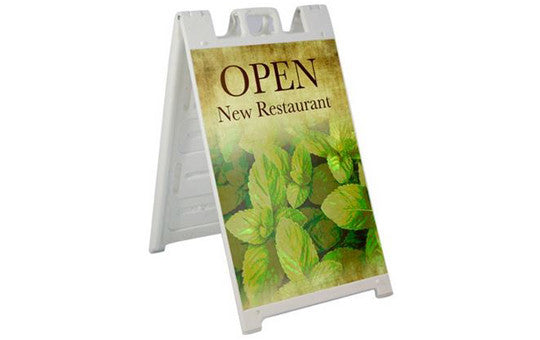 Signacade Outdoor Sandwich Board Sign