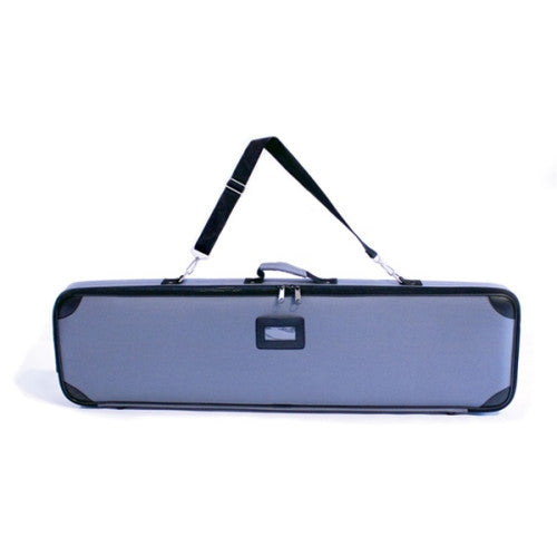 "Single Sided Silver Wing 33.5"" Retractable Banner Stand Travel Bag"