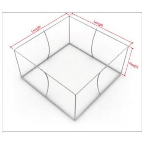 Hanging Banner Skybox Square Shaped 20 foot by 24 inch Inside and ...