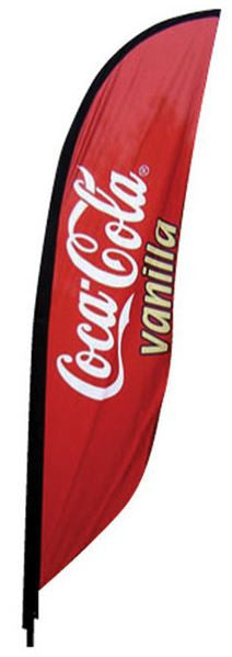 Feather Banner Small Single Sided (no stand or base)