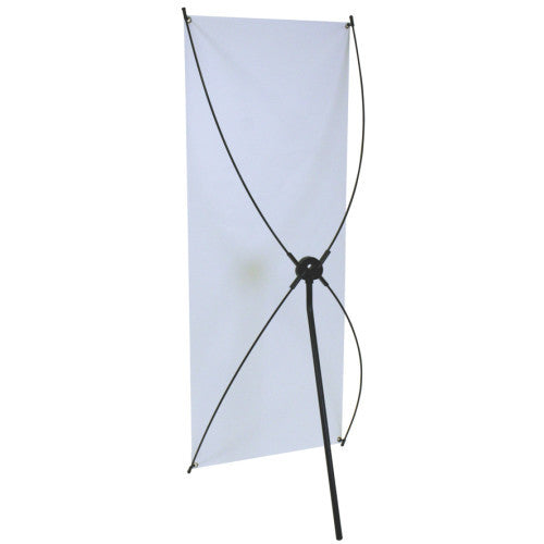 "Spring Back 29.5"" Wide by 70.75"" Tall Banner Stand"