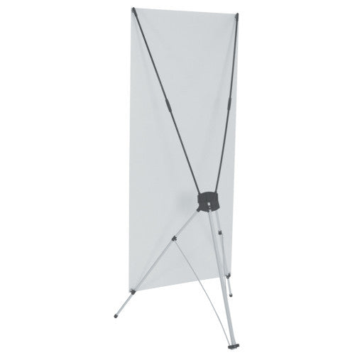 "Spring Back 31.25"" Wide by 62.25"" Tall Banner Stand"
