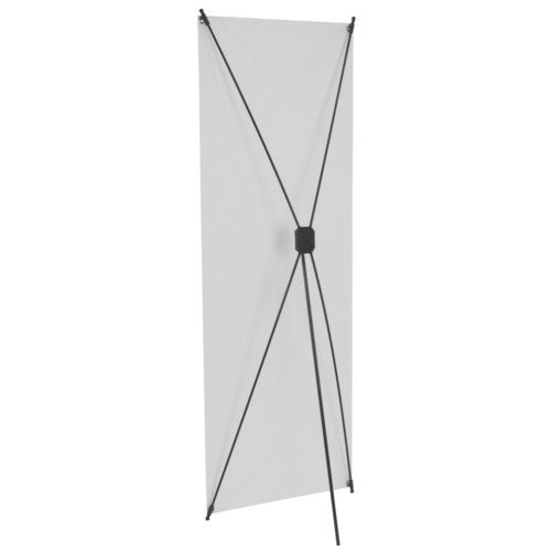 "Spring Back 24.5"" by 63"" Banner Stand"