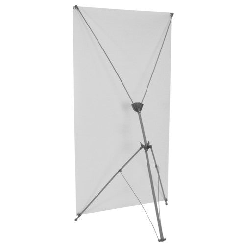 "Spring Back 29.5"" by 61.5"" to 69"" Banner Stand"