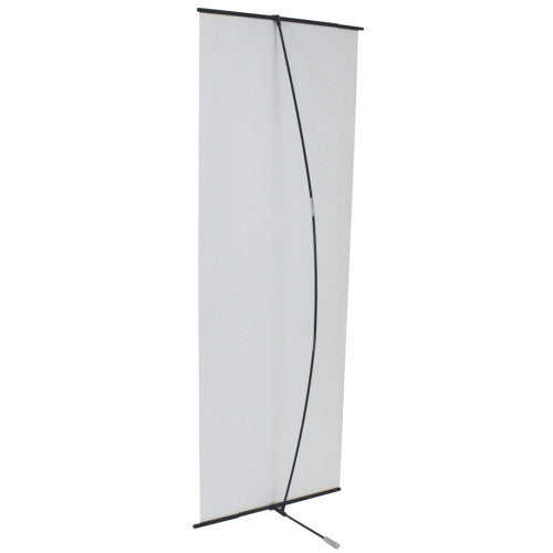 "Spring Back 27"" Wide by 59"" to 78"" Tall Banner Stand"