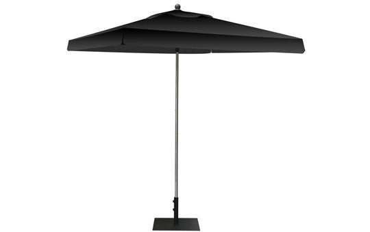 Square Shaped Indoor Outdoor Umbrella Display Blank Black Top and Frame