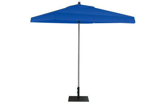 Square Shaped Indoor Outdoor Umbrella Display Blank Blue Top and Frame