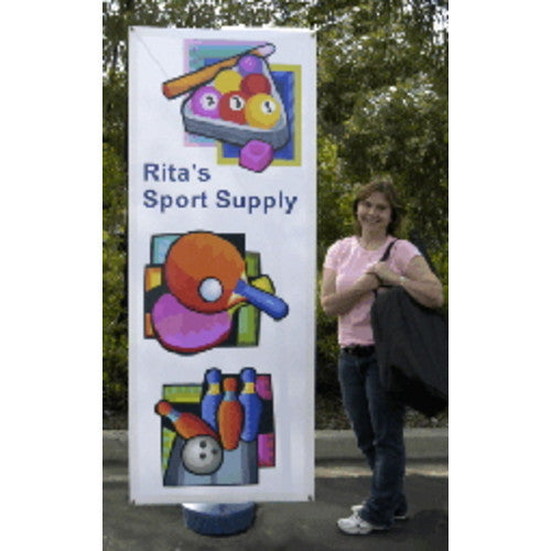 Double Sided Windwise Outdoor Banner Stand