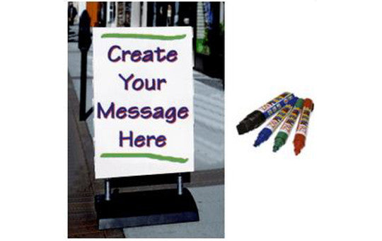 Write On Springer Outdoor Sign Display