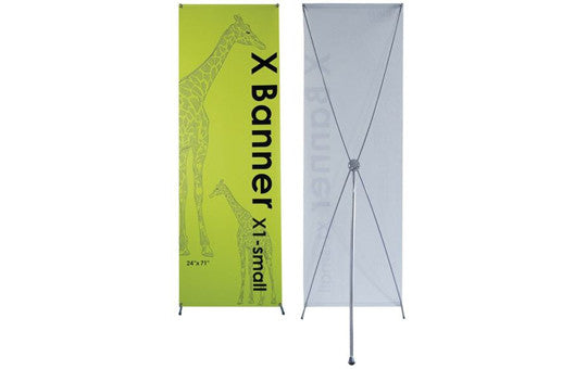 "X1 Banner Stand 24"" by 71"""