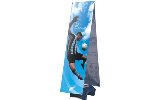 Zephyr Outdoor Double Sided Banner Stand Graphic and Frame Combo