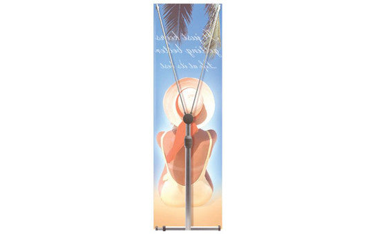 Zephyr 2' x 6' Outdoor Single Sided Graphic Only