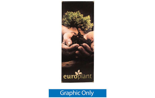 "Zeppy 27.5"" by 69"" Outdoor Banner Stand Display Graphic Only"
