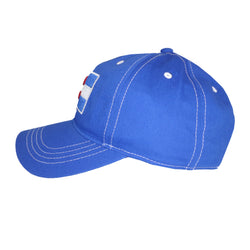 Colorado Curved Bill Flag Hat All Royal