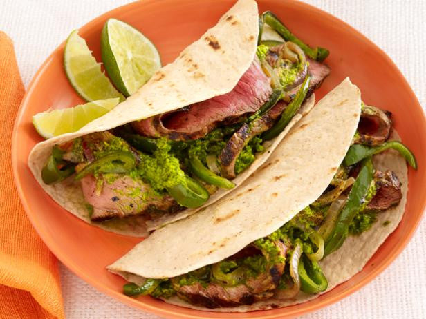 Featured Recipe: Chimichurri Steak Fajitas