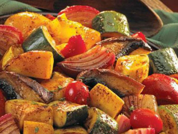 Roasted Veggie and Poultry Blend