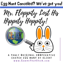 Load image into Gallery viewer, Mr. Floppity Lost his Hippety Hoppety! (Family Egg Hunt)