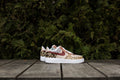 What the Safari Print Nike Air Force One Hand Painted by Dejesus Custom Footwear
