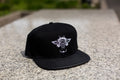 Dejesus Custom Footwear Leather Strap Back Hat