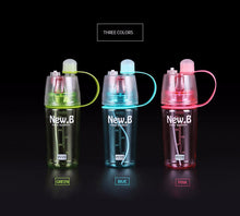 Creative Spray Atomizing Water Bottle