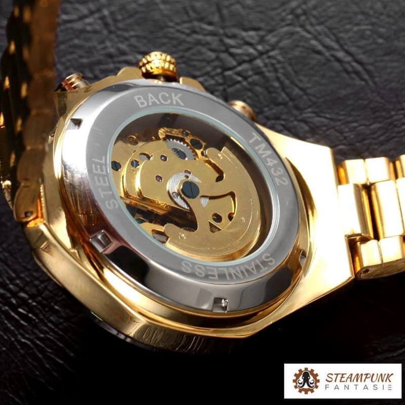 "Montre ""Churchill"" - Steampunk Fantasie"