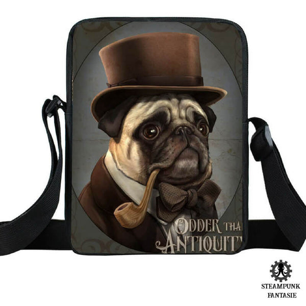 "Sac ""Churchill Sweety Bag"" - Steampunk Fantasie"