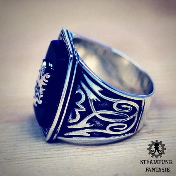 "Bague ""BVV"" - Steampunk Fantasie"