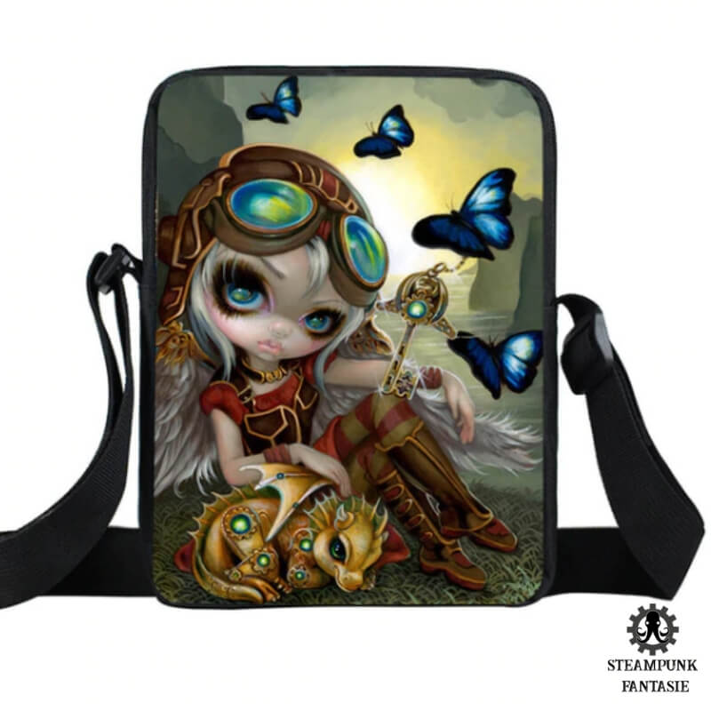 "Sac ""Steamy lonely Heart"" - Steampunk Fantasie"