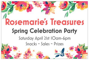 Our Annual Spring Party is Coming!